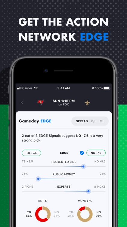 The Action Network: Sports App screenshot-3