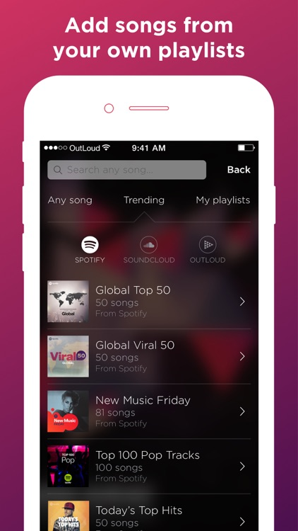 OutLoud Social Jukebox screenshot-3