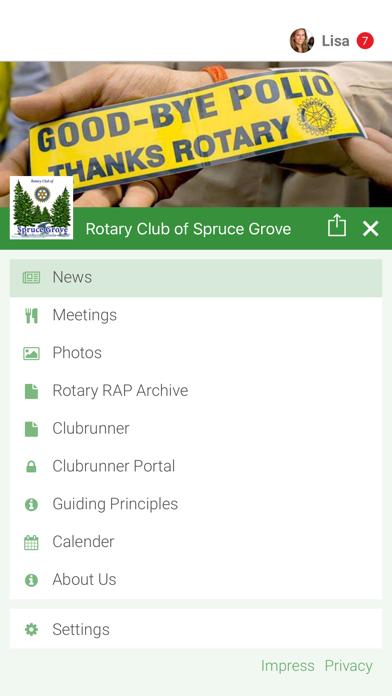 点击获取Rotary Club of Spruce Grove