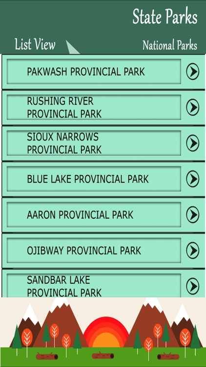 State Parks In Ontario screenshot-1