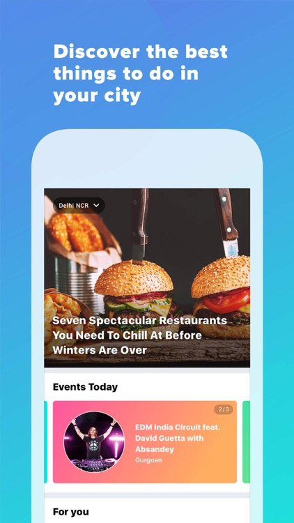 Whats Hot - Discover Your City