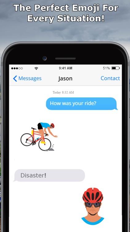 CyclEmoji - Cycling Emojis screenshot-3