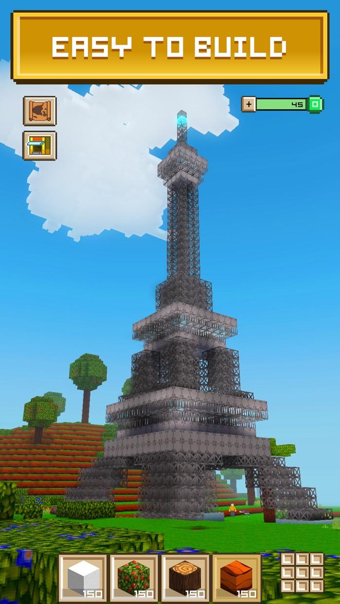 Block Craft 3D: City Building Screenshot