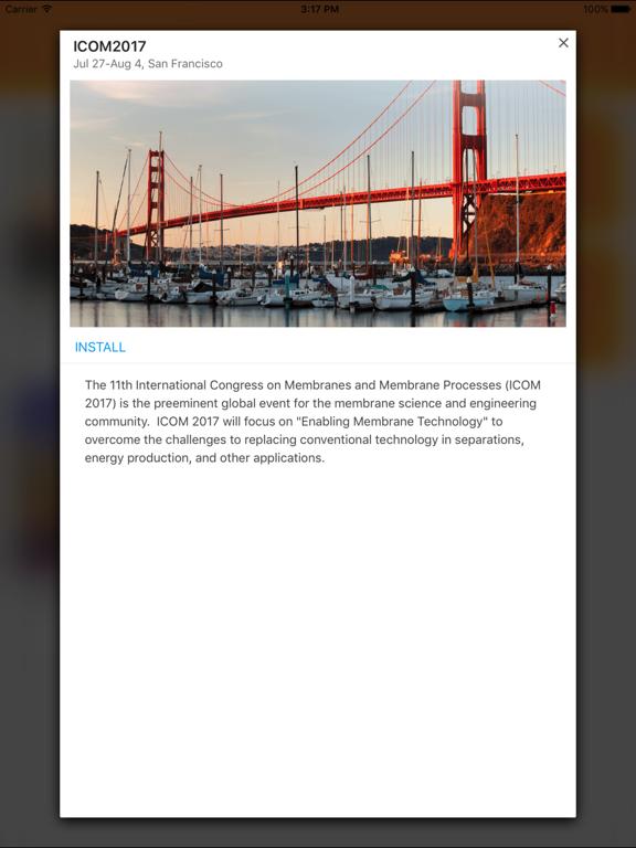 Elsevier Conferences App screenshot 8