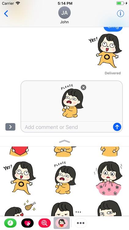 True Jenny Stickers screenshot-4