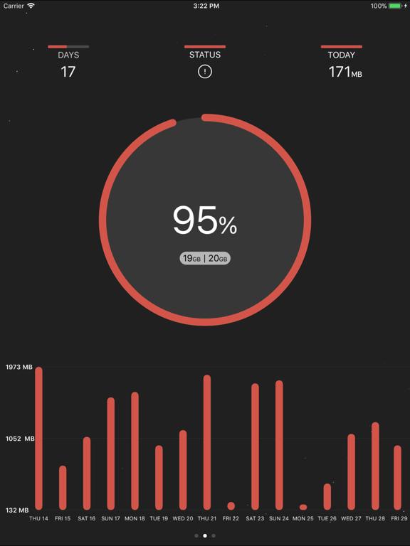 DataRocket Data Usage Monitorのおすすめ画像4