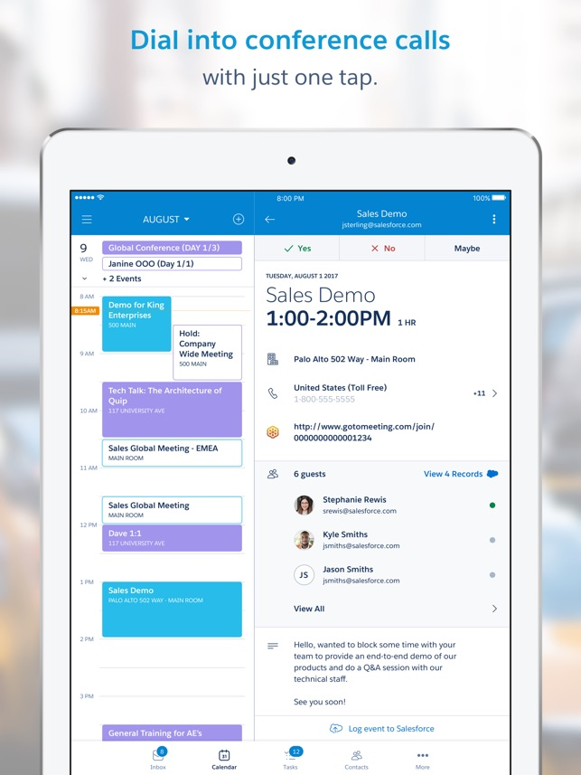 Salesforce Inbox on the App Store