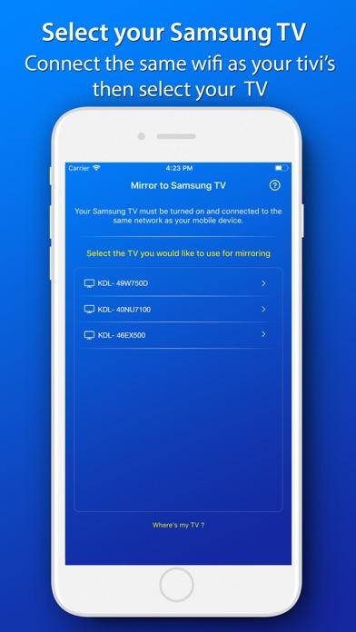 Screen Mirror for Samsung TV App Revisión - Photo & Video - Apps