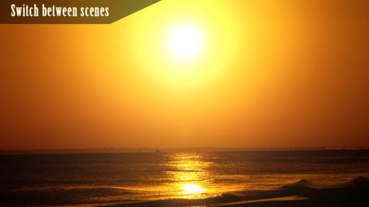 Ocean Sunset HD screenshot-3