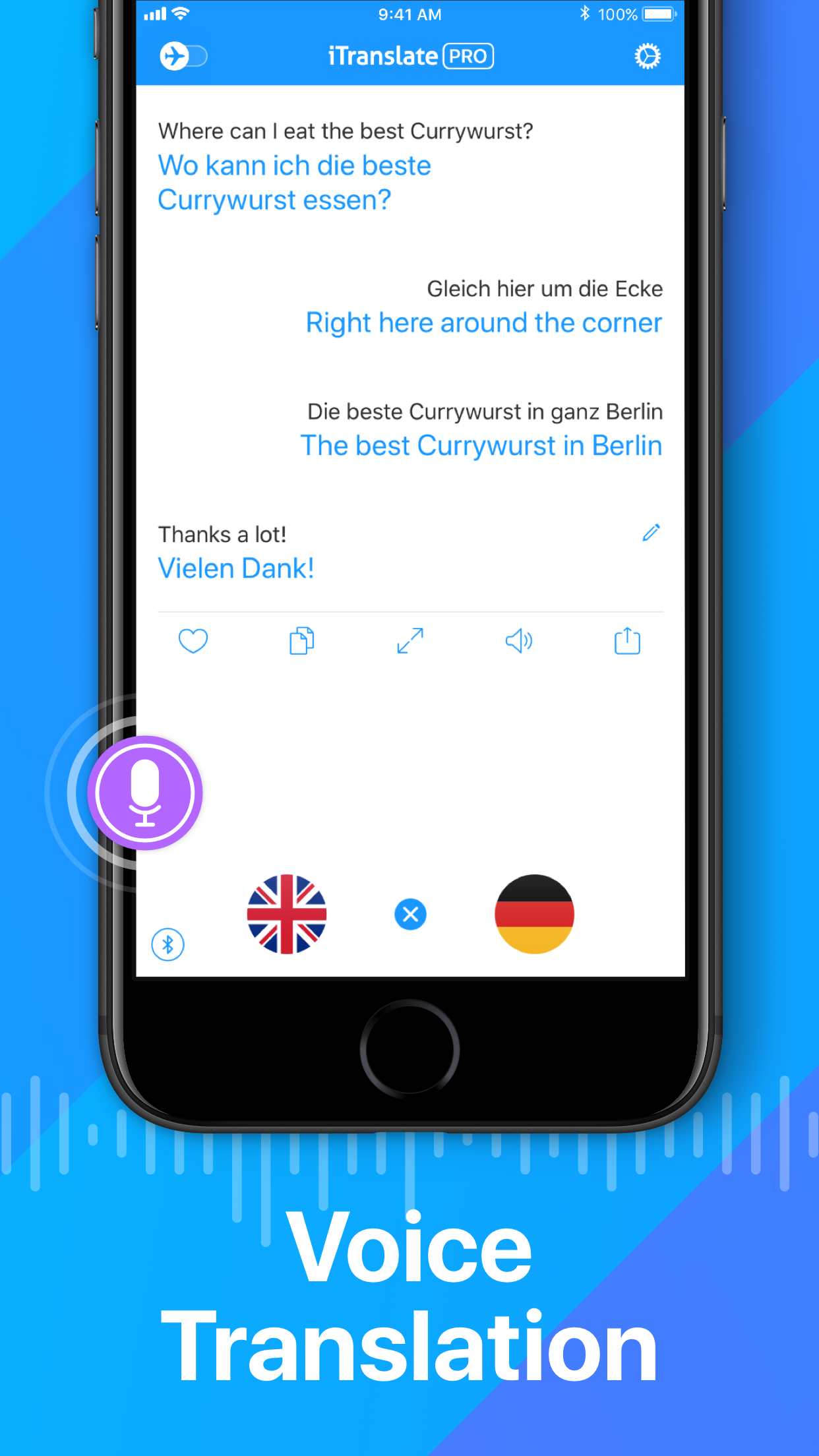 iTranslate Translator Screenshot