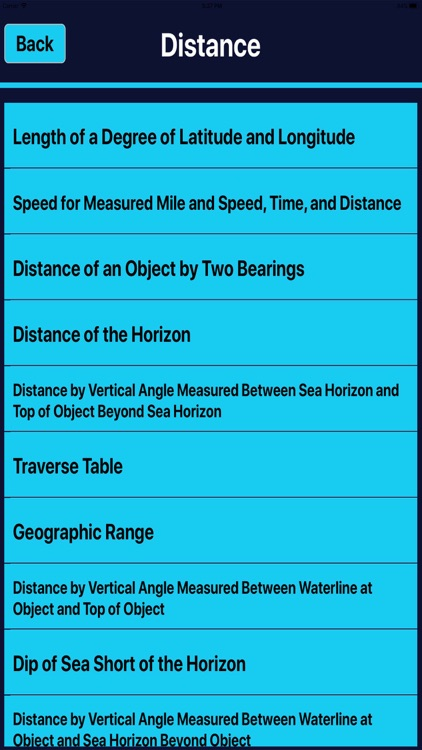 Marine Navigation Calculator