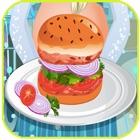Juego de cocina -  hamburguesa icon