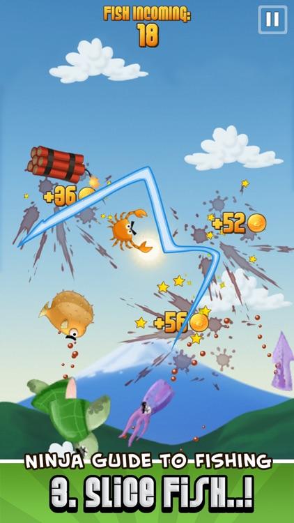 Ninja Fishing screenshot-3