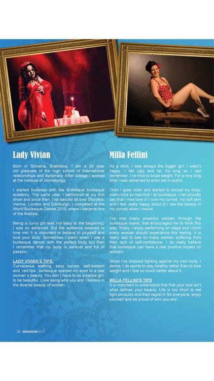 Burlesque Bible - The World No1 magazine for EVERYTHING burlesque screenshot-3