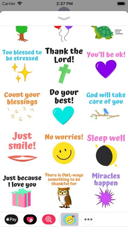 Christian Encouragement Notes screenshot-4