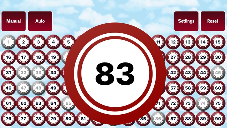 90 Ball Bingo Caller screenshot-2