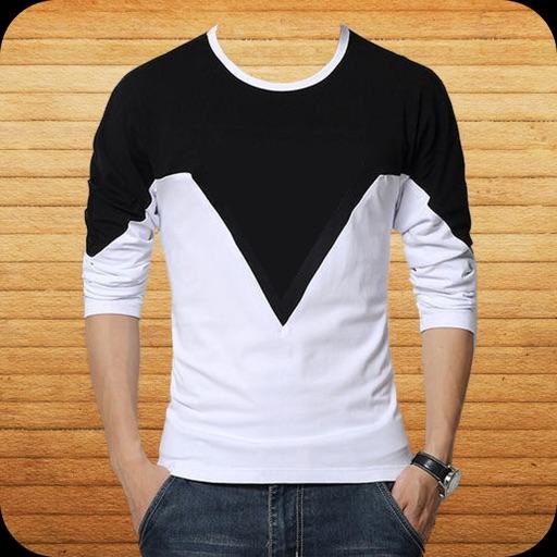 Man T-Shirt Photo Suit Montage