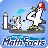 Mathfact-1 game