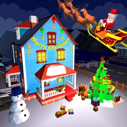 christmas city craft and build
