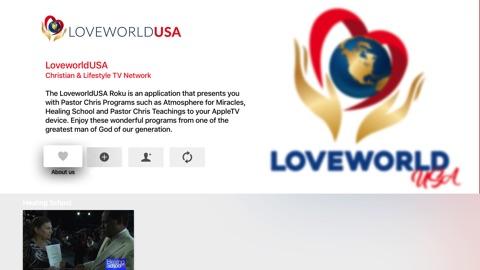 Screenshot #1 for LoveworldUSA