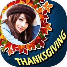 Thanksgiving Photo Frame Maker