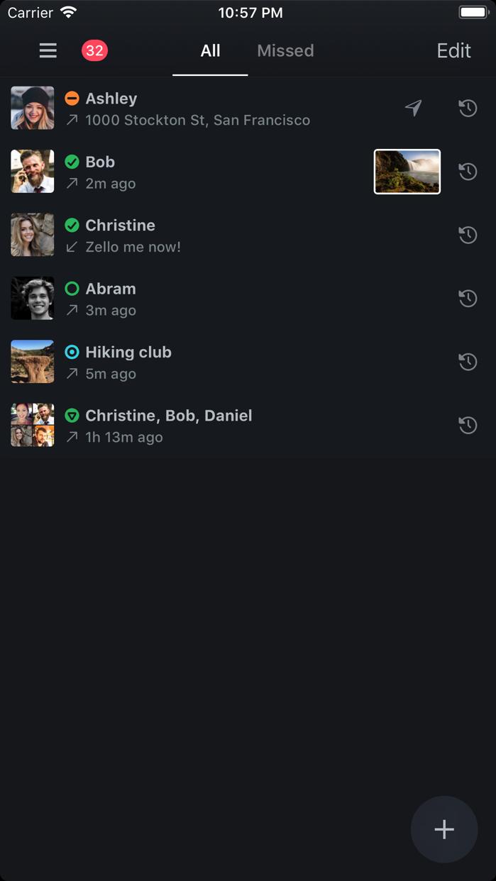 Zello Walkie Talkie Screenshot