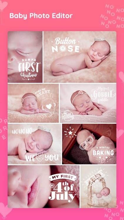 Baby photo editor & Art Maker screenshot-8