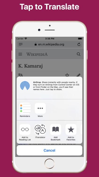 Website Translator for Safari