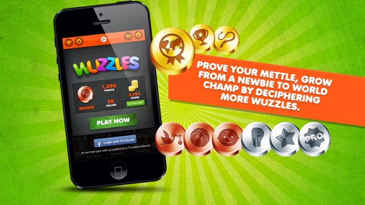 Word Puzzle Game Rebus Wuzzles screenshot-3