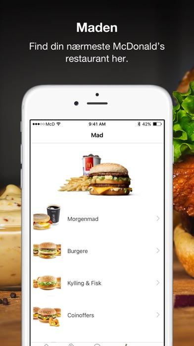 Screenshot for McDonald's in Denmark App Store