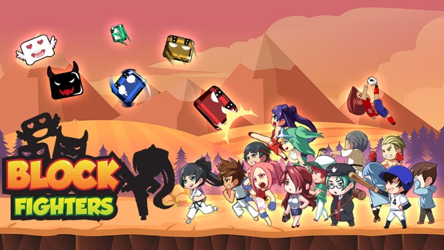 Block Fighters, game for IOS
