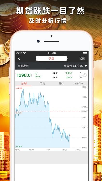 期货投资宝-国际期货投资软件 screenshot-3