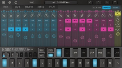 KORG ELECTRIBE Wave screenshot1