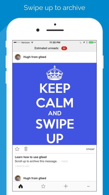 gfeed - email simplified screenshot-0