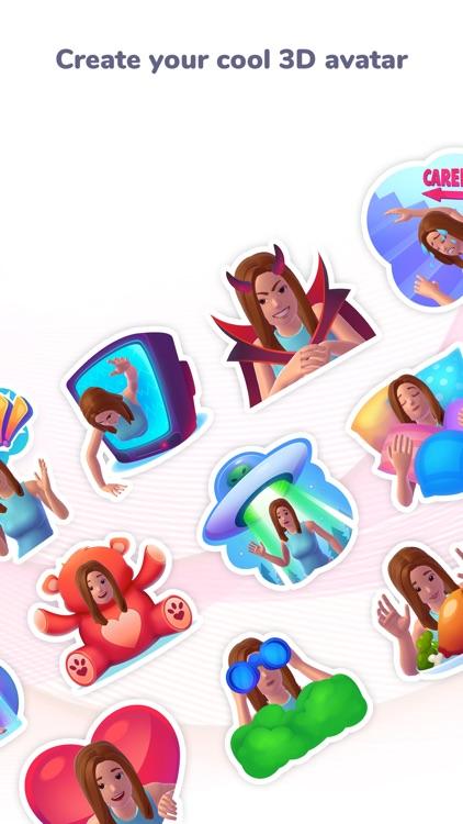 MojiCam - New Personal Emoji screenshot-0