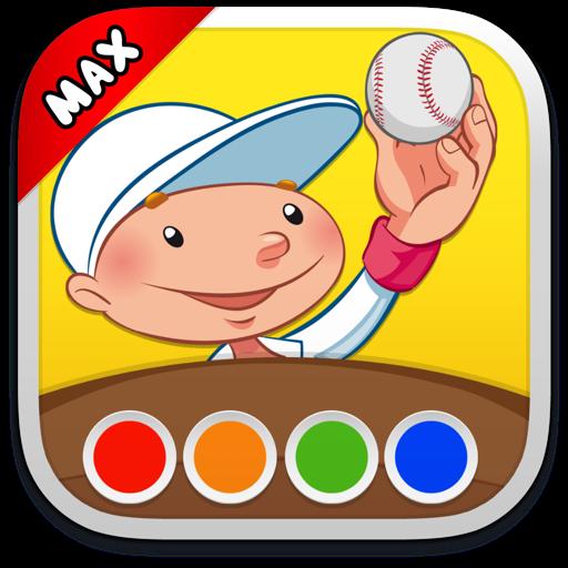 Раскраска - Виды спорта MAX