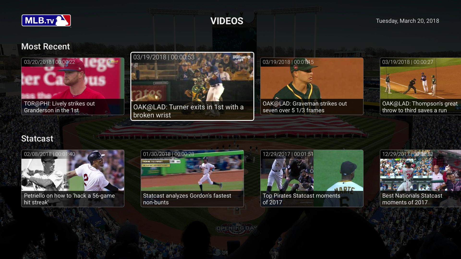 MLB At Bat screenshot 23