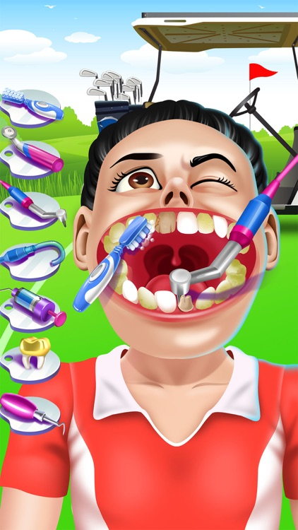 Sports Dentist Salon Spa Games screenshot-3