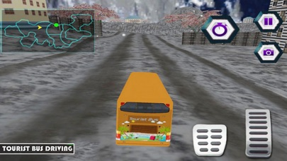 Bus Driving - Snow Hill screenshot one