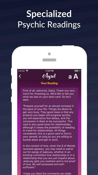 Aysel - Tarot & Horoscope Screenshot