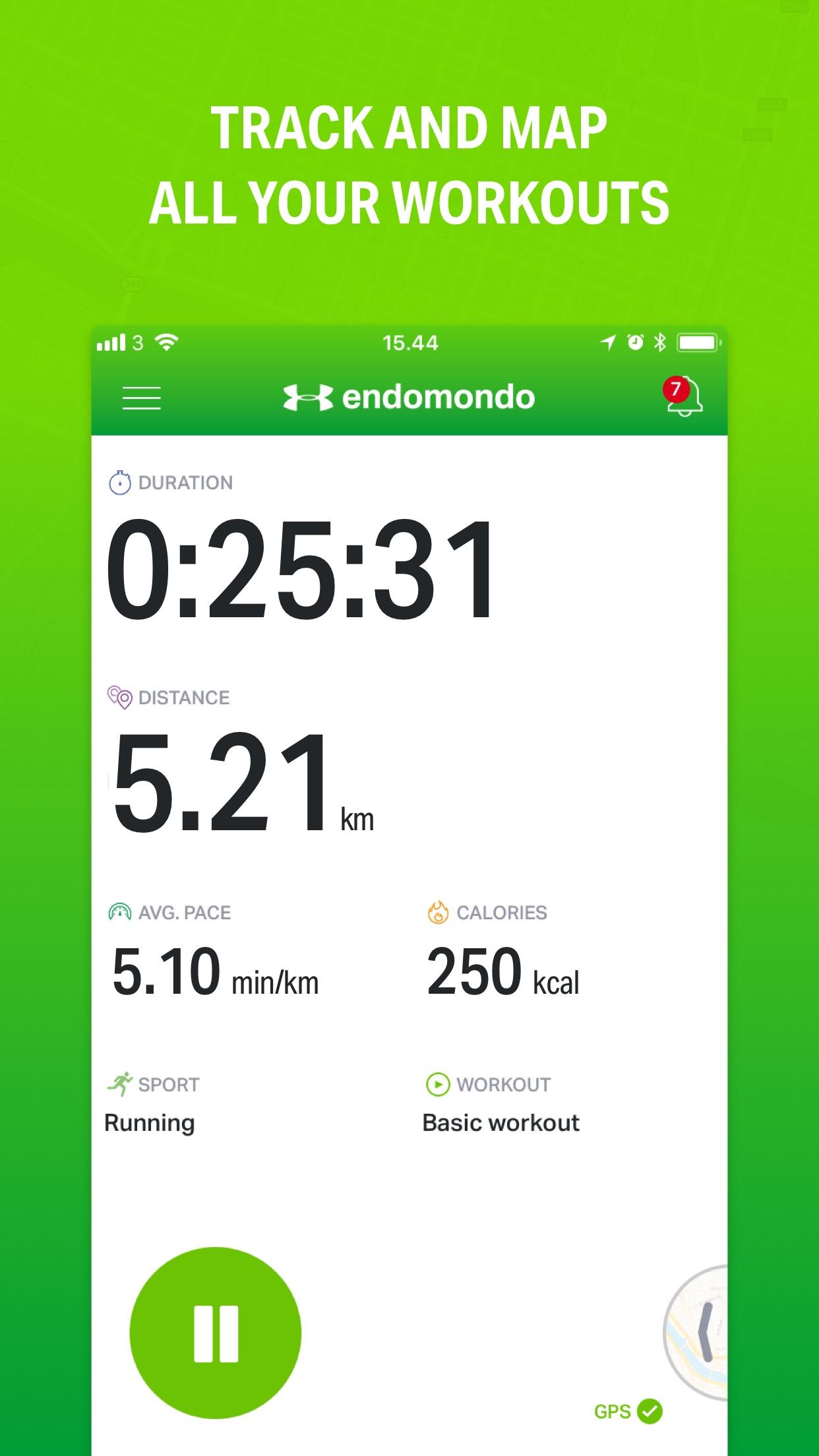 Endomondo Screenshot