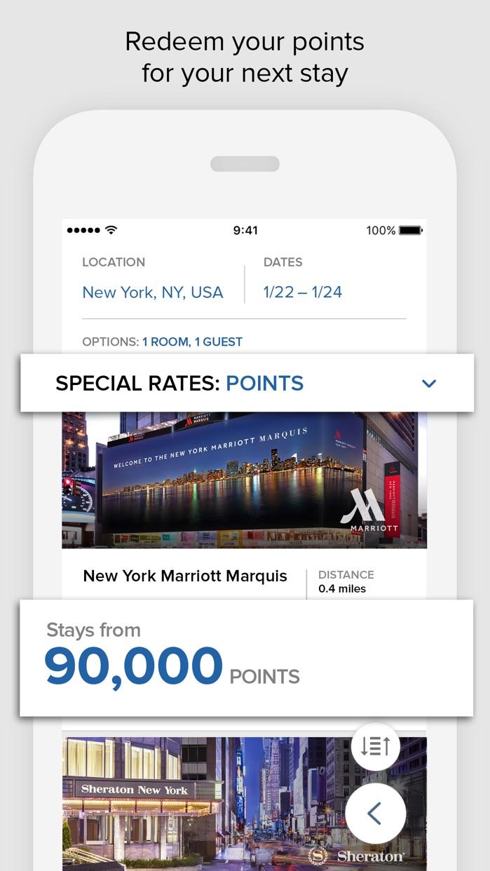 Marriott Rewards Screenshot