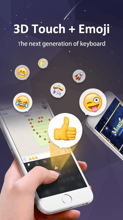 GO Keyboard-Emojis&Cool Themes screenshot-3