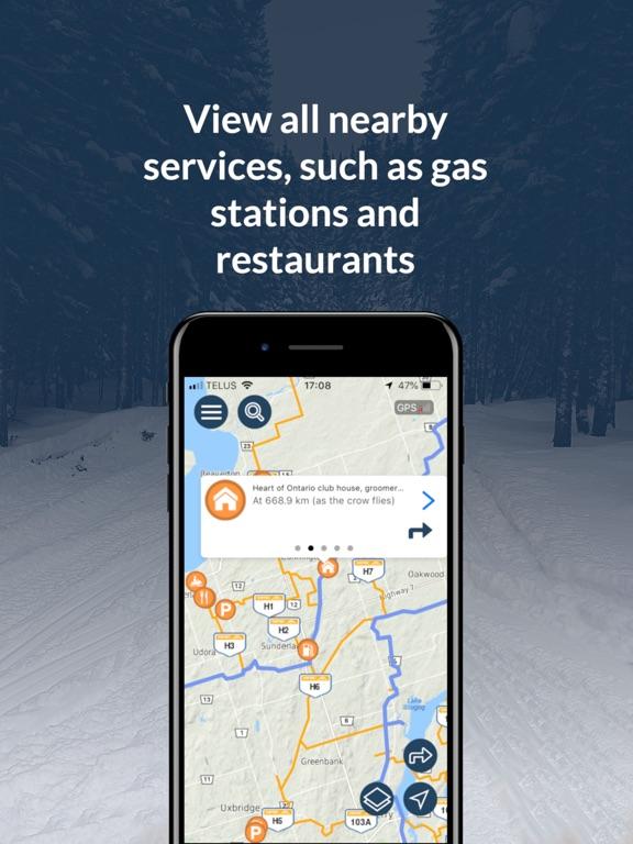Go Snowmobiling Ontario 2018! screenshot 9
