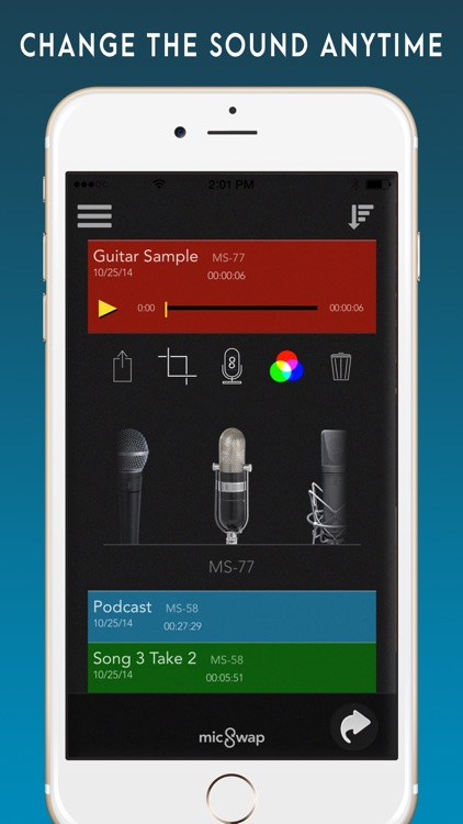 MicSwap Pro: Mic Emulator screenshot-1