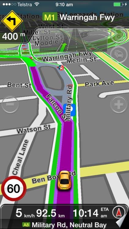 MetroView GPS Navigation