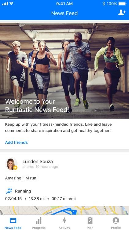 Runtastic Running App screenshot-4