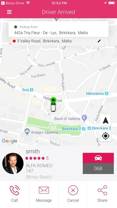 Bonju Ride app image