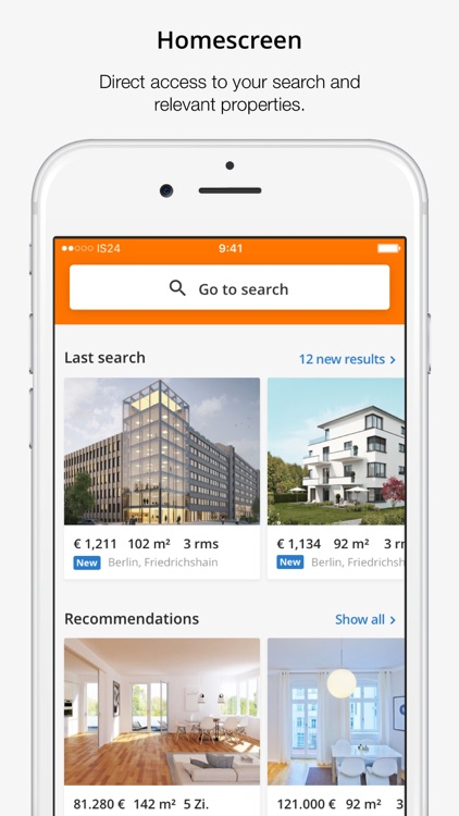 ImmobilienScout24: Real Estate screenshot-1