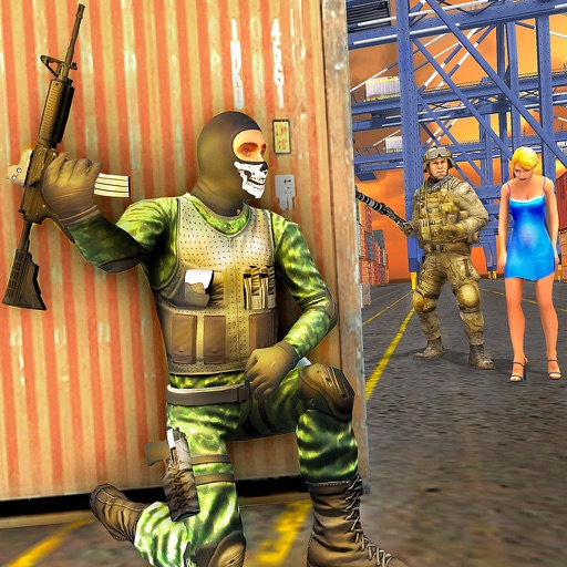 Real Army Commando Action FPS